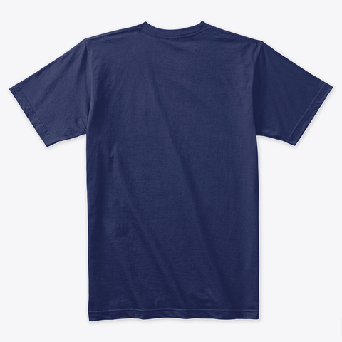 Rolling Plains Coffee Midnight Navy T-Shirt Back