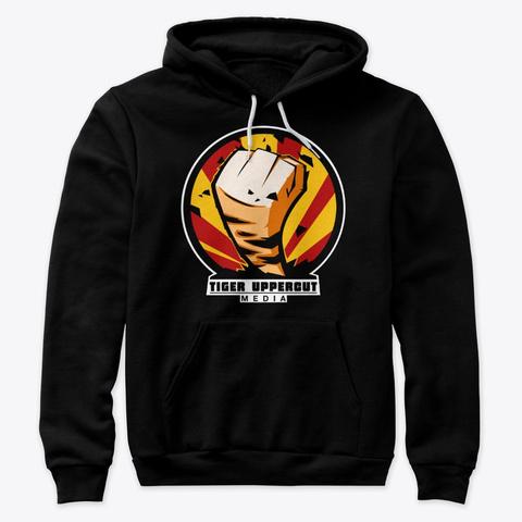 Tiger Squad Black Black T-Shirt Front