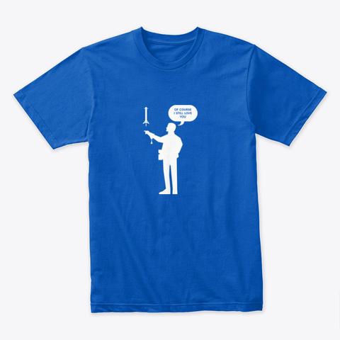Falconer 🚀 #Sfsf Royal T-Shirt Front