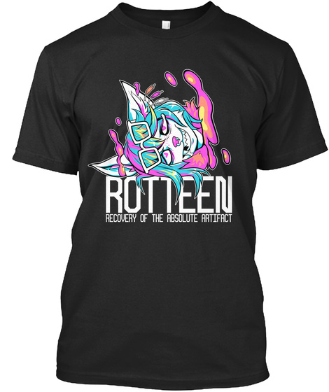Rotteen Recovery Of The Absolute Artifact  Black T-Shirt Front