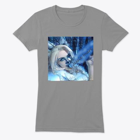 White Wolf Premium Heather T-Shirt Front
