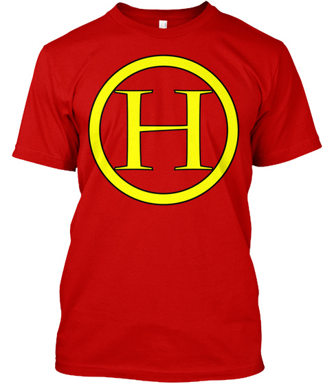 H Classic Red T-Shirt Front