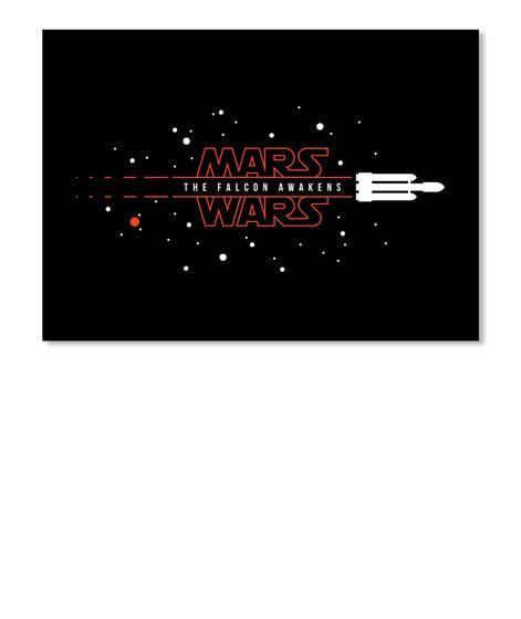 Mars Wars: Tfa [Usa] #Sfsf Black Stiker Front