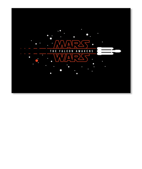 Mars Wars: Tfa [Usa] #Sfsf Black Sticker Front