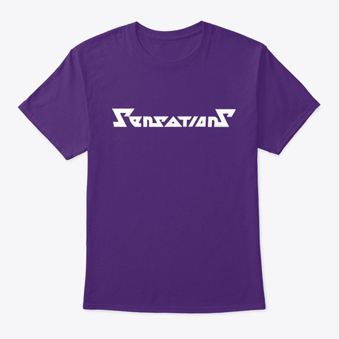 Sensations Purple T-Shirt Front