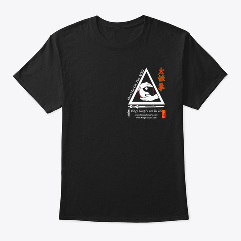 2019 World Tai Chi Day Black T-Shirt Front
