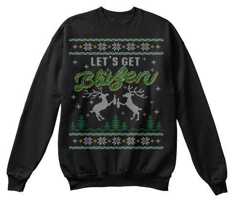 Christmas Sweaters For Men.Blitzen Christmas Sweater Men T Shirt