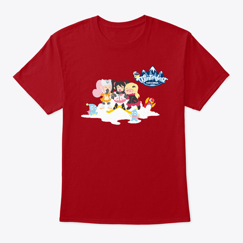 Radio Sega's Winter Fest 2018 Deep Red T-Shirt Front