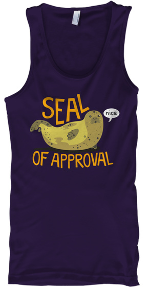 Seal Of Approval   Limited Edition Team Purple T-Shirt Front