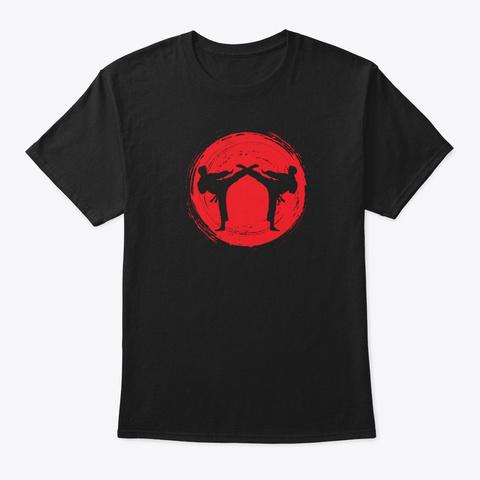 Hta Martial Arts Academy Black T-Shirt Front
