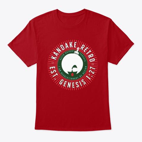 Genesis   Kandake Red Deep Red T-Shirt Front