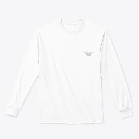 Aj White T-Shirt Front