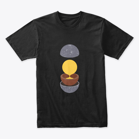 Layers: Mercury 🚀 #Sfsf Black T-Shirt Front