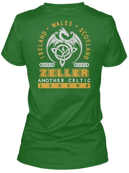 Zeller Another Celtic Thing Shirts Irish Green T-Shirt Back