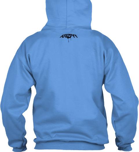 Krizpyy Carolina Blue T-Shirt Back