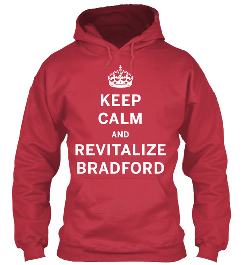 Som Kc Revitalize Hoodie Cardinal Red T-Shirt Front