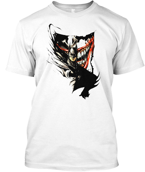 Halloween Art White T-Shirt Front