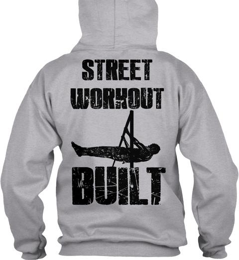 Street Workout Built Hoodies