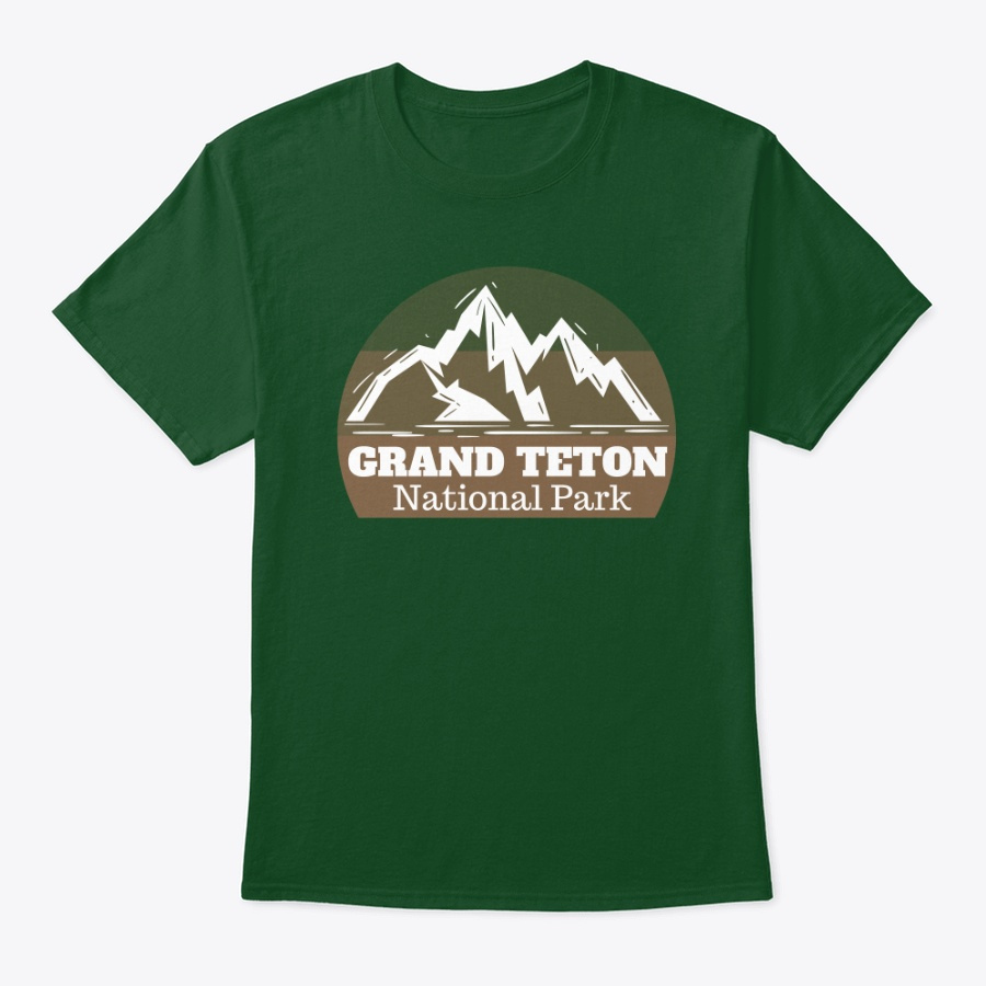 Adventures At Grand Teton National Park Unisex Tshirt