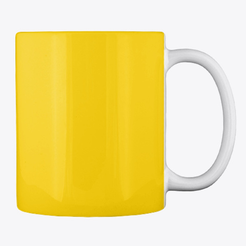 Gardening Slogan Mug, Cup, China,Drink Lemon Yellow T-Shirt Back