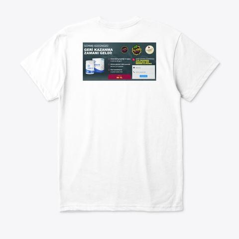 Fatimatin White T-Shirt Back