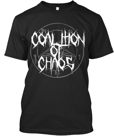Coauhon Of Chaos Black T-Shirt Front