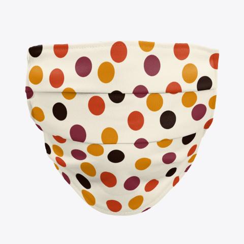 Dominga   Classic 70s Style Retro Dots Standard T-Shirt Front