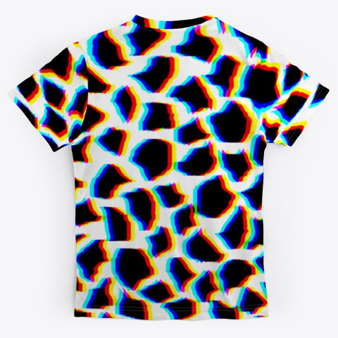 Urban Animal Print   Tee Standard Camiseta Back