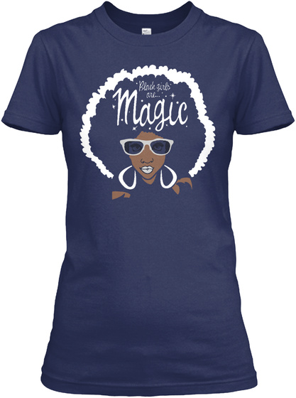 Black girl magic funny t gildan women 39 s tee t shirt ebay for How to sell t shirts