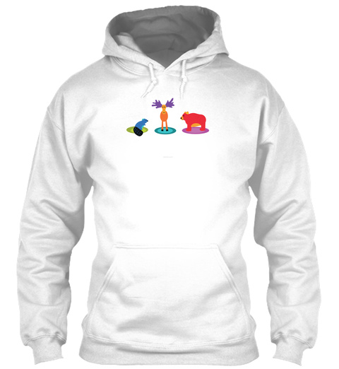 Bros   White Sweatshirt Front