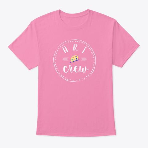 Art Crew Pink T-Shirt Front