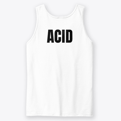 Set Of The Day   Acid White T-Shirt Back