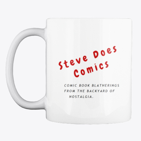 Steve Does Comics White Mug Front