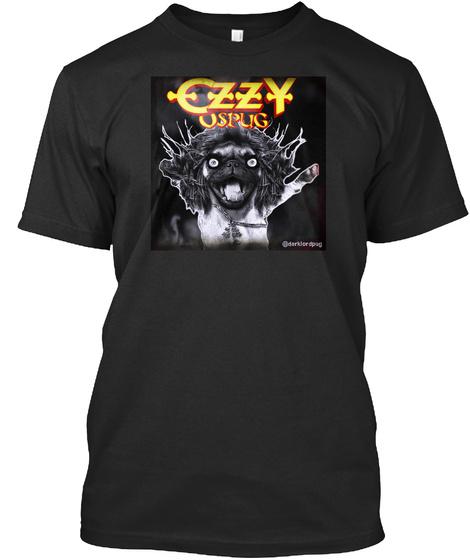 Czzy Uspug Black T-Shirt Front