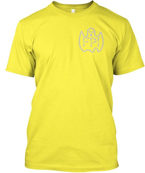 Fpi Yellow T-Shirt Front