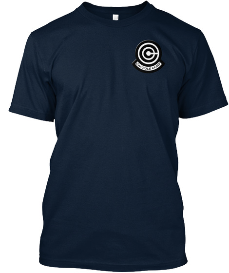 Capsule Corp New Navy Kaos Front