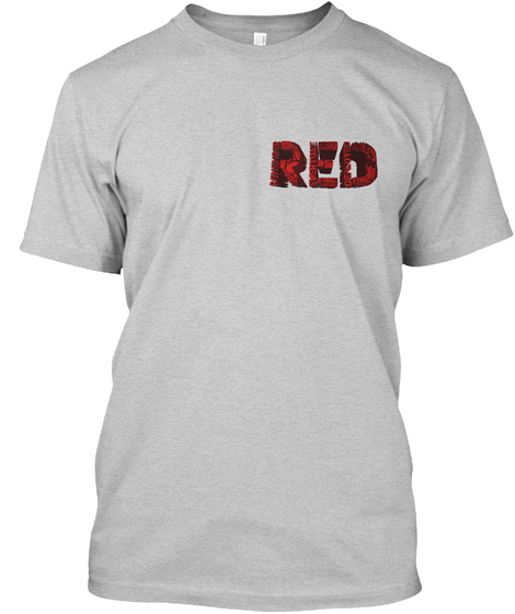 Red Light Steel T-Shirt Front