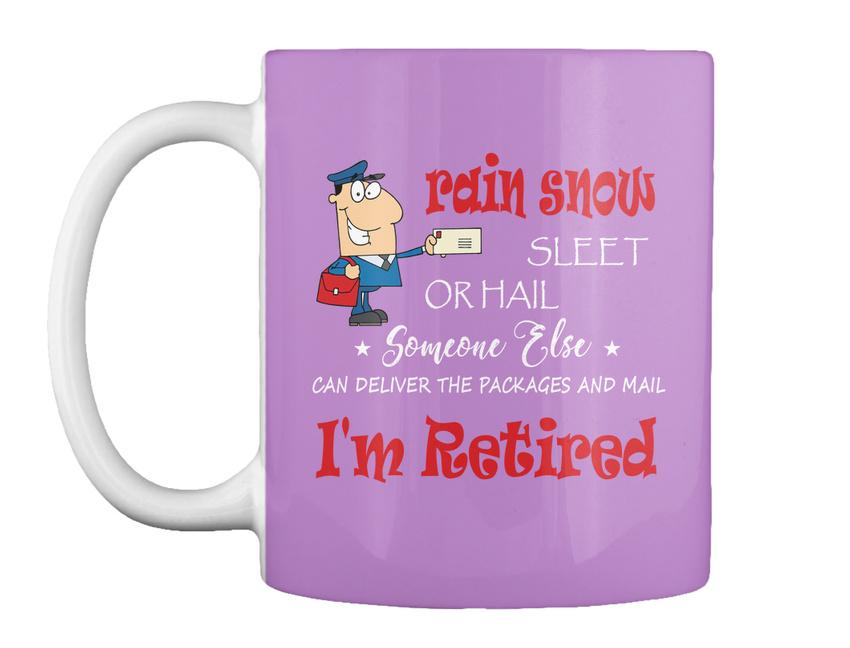 miniature 21 - Funny Retired Postal Worker Mailman Tee - Rain Suck Sleet Or Gift Coffee Mug