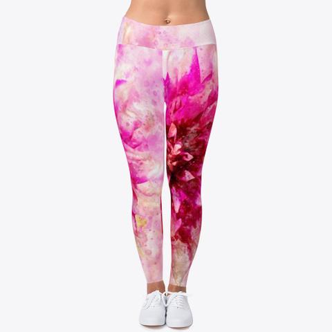 Vibrant Pink Flower Standard T-Shirt Front
