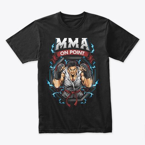 Mortal Combat T Shirt Black T-Shirt Front