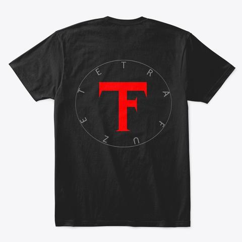 Tetra Fuze S.O.T.T. Album Cover Black T-Shirt Back