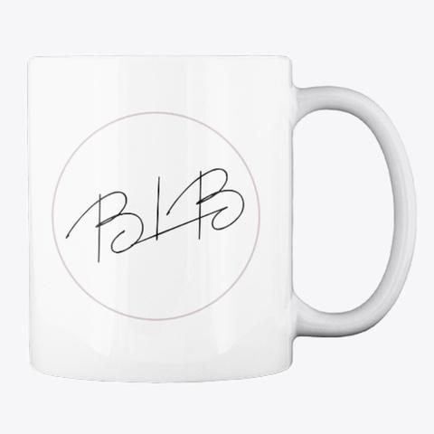 Caffeine Obsessed Mug White T-Shirt Back