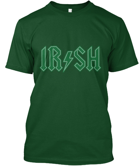 Irish Deep Forest T-Shirt Front