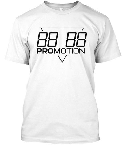 """Promotion Tee """"Og"""" White T-Shirt Front"""