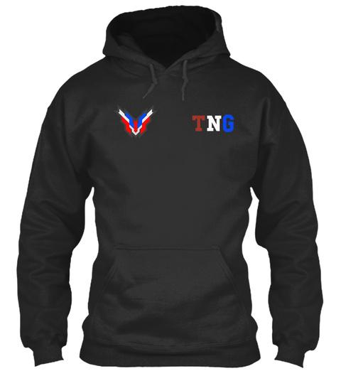 Tng Jet Black Sweatshirt Front