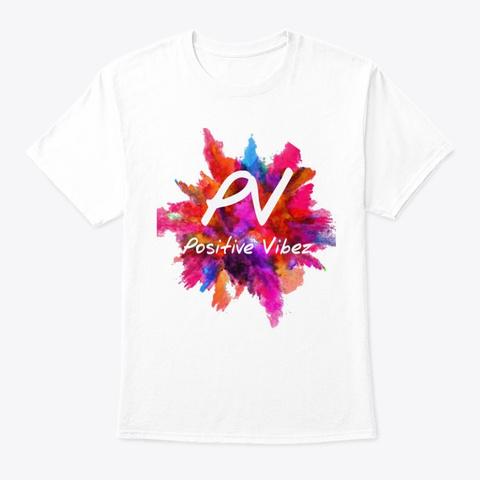 Mens Summer Splash T Shirt White T-Shirt Front