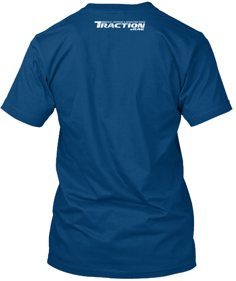 Reprobate Cool Blue T-Shirt Back