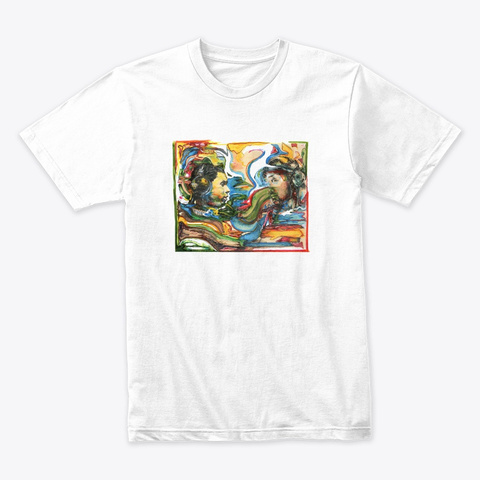 Nu Electronica White T-Shirt Front