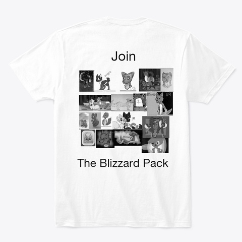 Blizzard Shirt White T-Shirt Back