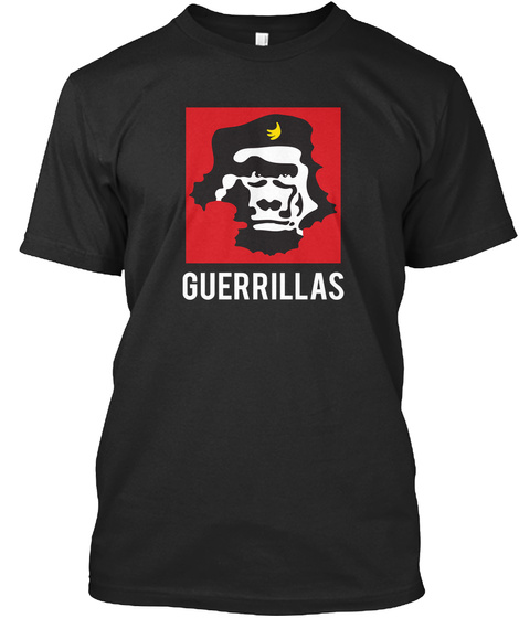 Guerrillas Black T-Shirt Front